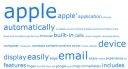 Word Cloud based on iPhone's Press Release in 2007