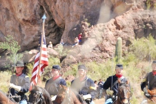 Civil War Battle - Arizona