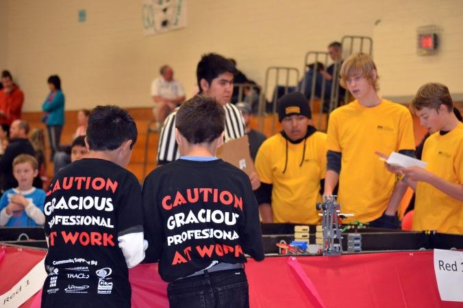 Salt River Elementary School, Robotics - Gracious Professionalism