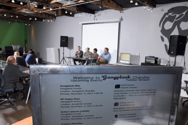Chat Republic - Panel Discussion at Launch - Gangplank, Chandler Arizona
